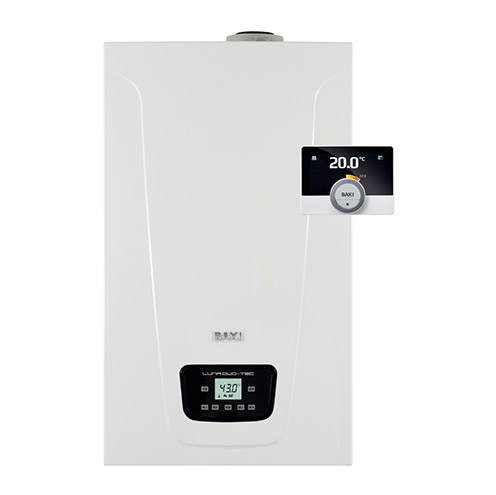 Baxi Luna Duo-tec E only at Panthermiki.